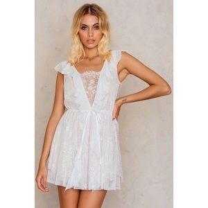🍋For Love & Lemons Stardust Lace Dress